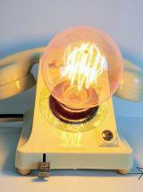 """Lampe industrielle, lampe vintage - """"Fougères"""""""