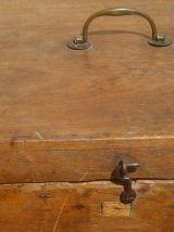 boite  en  bois , vintage  des  années 1950-1960