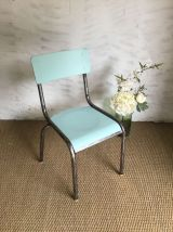 Chaise écolier vintage