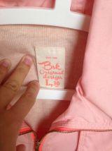 Veste d'été rose taille L