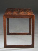 Table basse en bois de rose