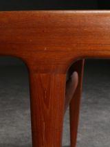 Table basse en teck avec rallonges – Johannes Andersen