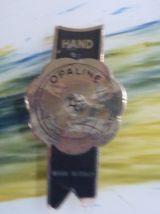 Grand pichet vintage en opaline 4 couleurs
