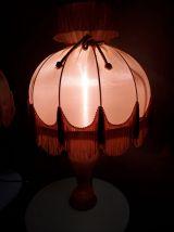 2 lampes en albatre style 1900
