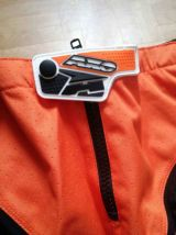 Pantalon moto AXO Orange