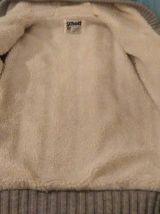 Veste fourée manteau homme taille M