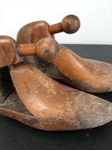Anciens embauchoires à chaussures