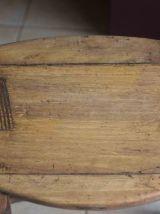 tabouret ancien chevillé