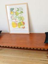 Table basse teck 200 cm Nils Jonsson pour Troeds 1959
