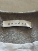 Veste en cuir de chèvre Marque : SANDRO