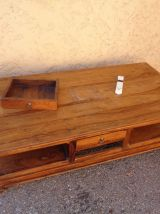 TABLE BASSE RECTANGULAIRE  STYLE COLONIAL
