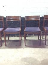 4 chaises style scandinave
