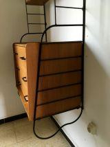 Commode étagères String scandinave vintage