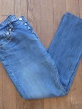 Jean Droit En Coton Bleu - W33 = 42/44 -Levi'S 501