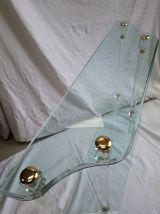 console verre plexiglas  dorer pierre vendel