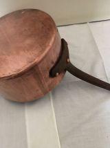 casseroles cuivre étamées diamètres = 13 14 18 et 22cm