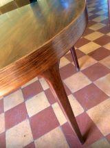 Table extensible scandinave en palissandre