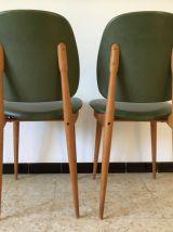 2 chaises Pierre Guariche années 60 vintage