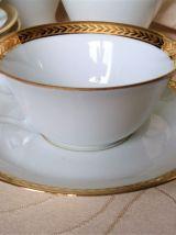 Service à café en porcelaine de Limoges