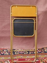 Chaise lafuma pliante vintage.