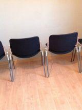 Suite de 4 chaises de G.Piretti pour Castelli modele dsc 106