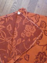 Chemin De Table Rectangulaire 45*250cm 55% Viscose Orange