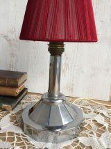 Petite lampe chromée années 40