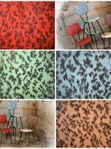 4 chaises de cuisine vintage esprit rockabilly années 50/60