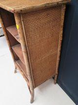 Bibliothèque en bambou