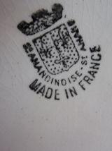 pichet en faience vintage