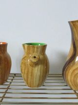 GRANDJEAN JOURDAN VALLAURIS 3 pichets en céramique années 50