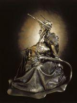 """Statue en poussière de bronze : """"Faust""""  de Sandrine Gestin"""
