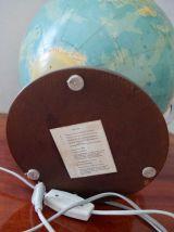Globe terrestre allemand RATH vintage 1983