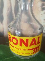 Carafe publicitaire BONAL - rare - Collector