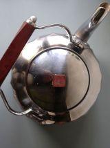 Bouilloire en aluminium années 1950