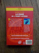 Le Crime De L'Orient Express- Agatha Christie- Policier
