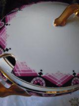 SERVICE DE TABLE PORCELAINE 1930 art deco
