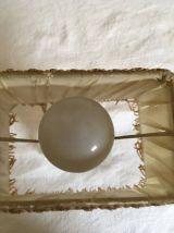 Petite lampe de chevet vintage .