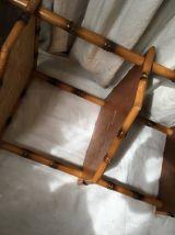 Etagère trois plateaux en bambou