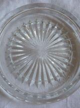 2 dessous de bouteille cristal Baccarat