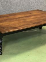 Table basse XIXème en merisier