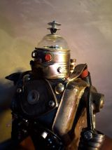 robot vintage ruby flash