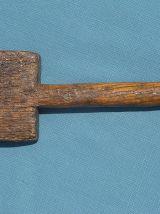 Battoir à linge, ancien XIXe siècle