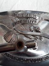 2 retros harley Davidson 70s aigle live to ride ride to live