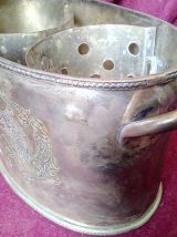 Rafraîchissoir en métal argenté Royal Sheffield
