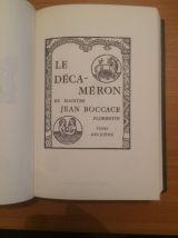 Le Décameron Jean Boccace-Ed Jean De Bonnot