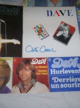 gros lot de 14 disques de DAVE dont un rare juke box