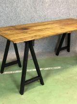 Table tréteaux des années 50
