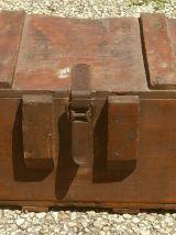 Caisse de munitions ancienne , Bois, 1929