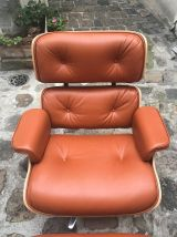 Eames lounge chair et ottoman - TAN/ Palissandre -